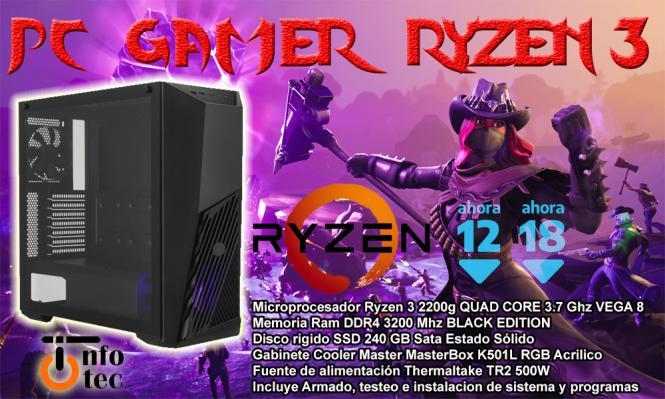 Pc Gamer Ryzen 3 2200G Combo 1